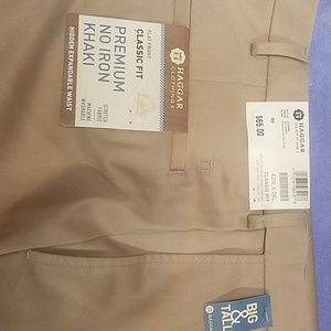 Men's dress pants haggar clothing classic fit 42 x